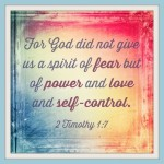 Scripture Declarations: Fear