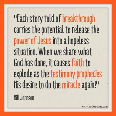 Miracle Testimony