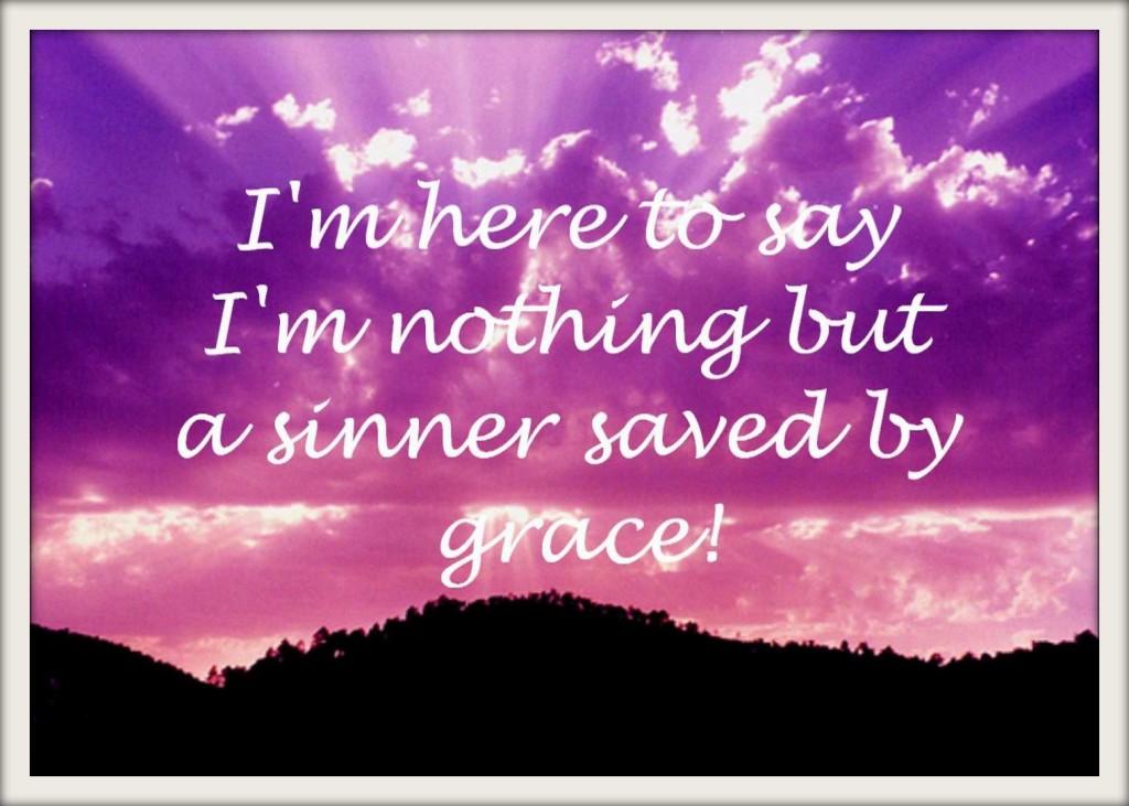 I was a sinner