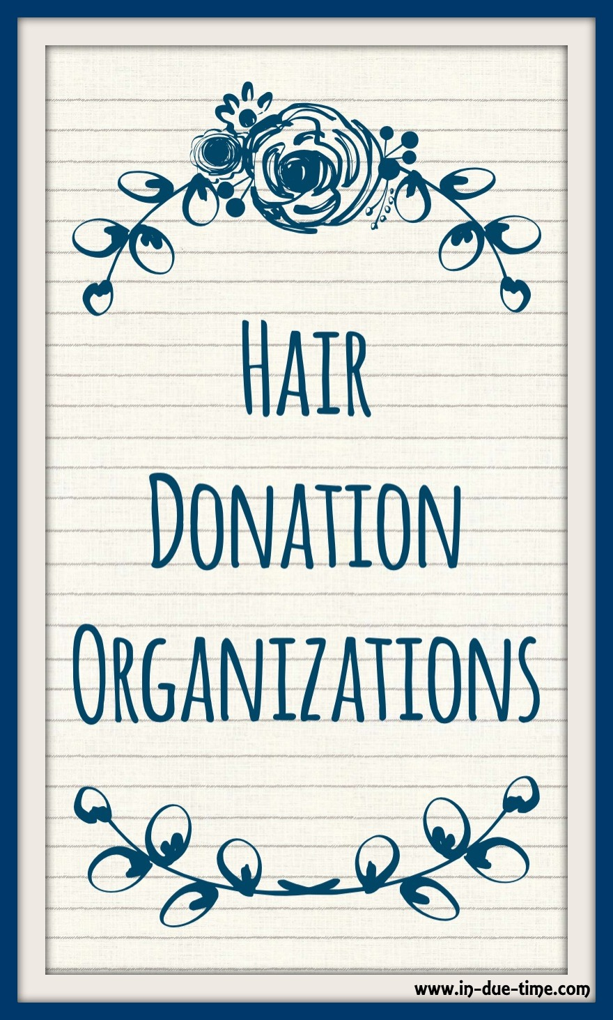 Hair Donation Organziations