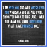 Genesis 28:15 – His Promises #104
