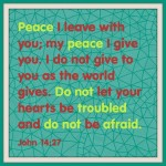 Scripture Declarations: Peace