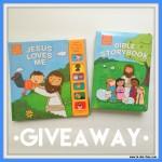 Jesus Loves Me + Bible Storybook Giveaway