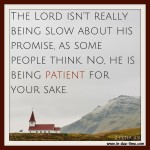 2 Peter 3:9 – He is Patient #118