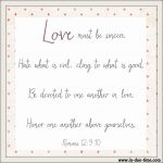 Love Others Romans 12:9-10 #140