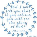 Luke 11:40 God's Glory #173