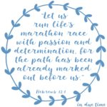 Hebrews 12:1 Run the Race #180