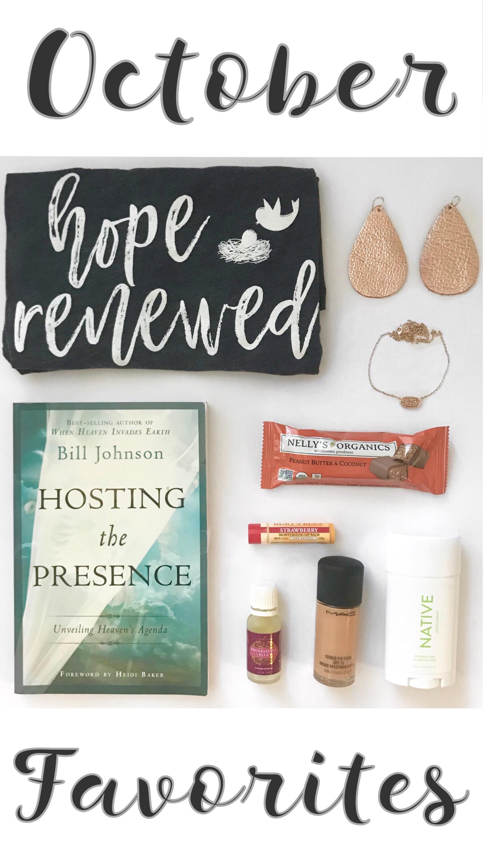 October Favorites - In Due Time Blog Post
