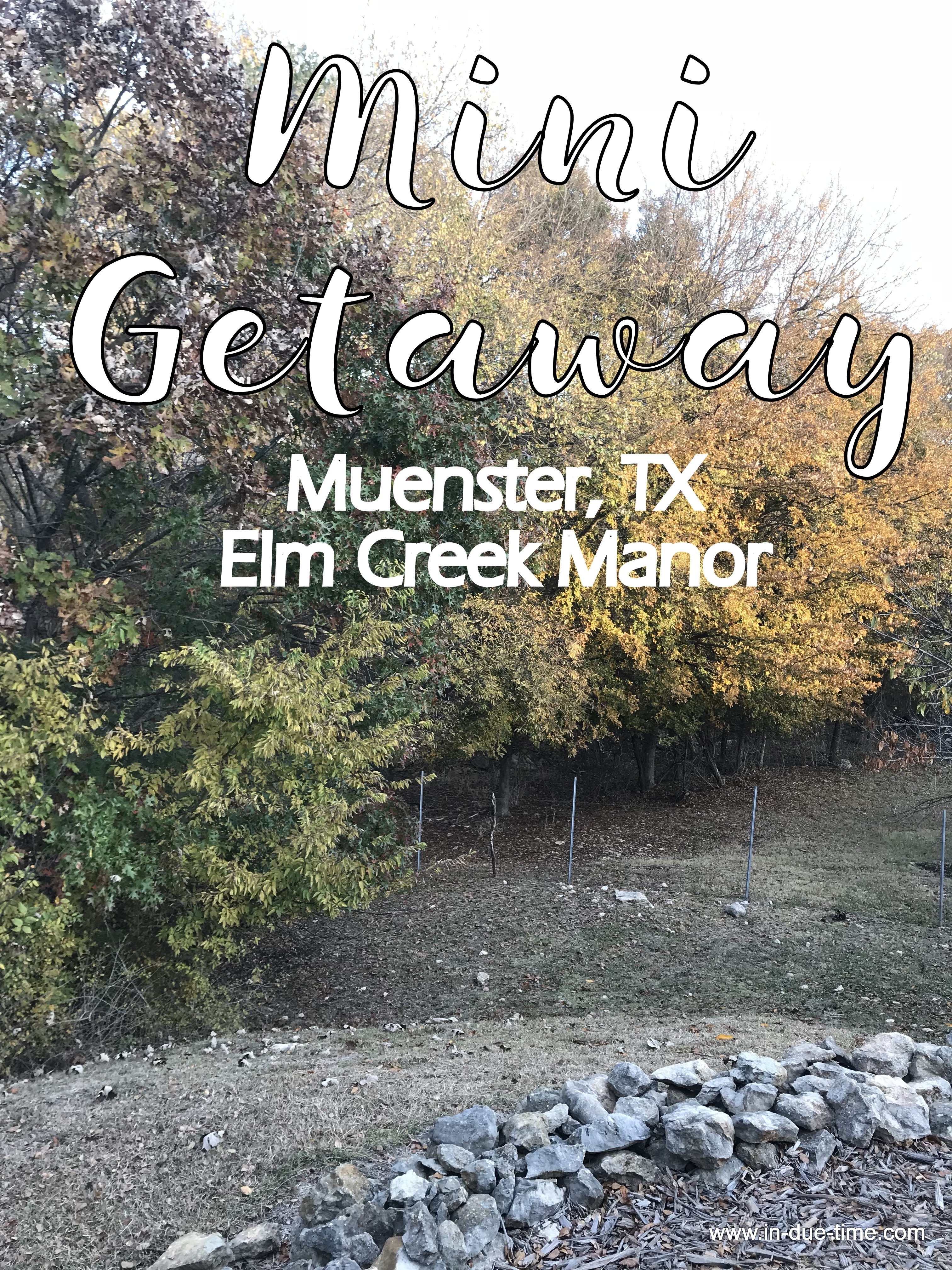 Muenster TX Elm Creek Manor