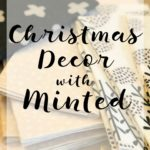 Christmas Decor with Minted