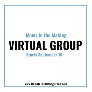 Moms in the Making Virtual Infertility Support Group