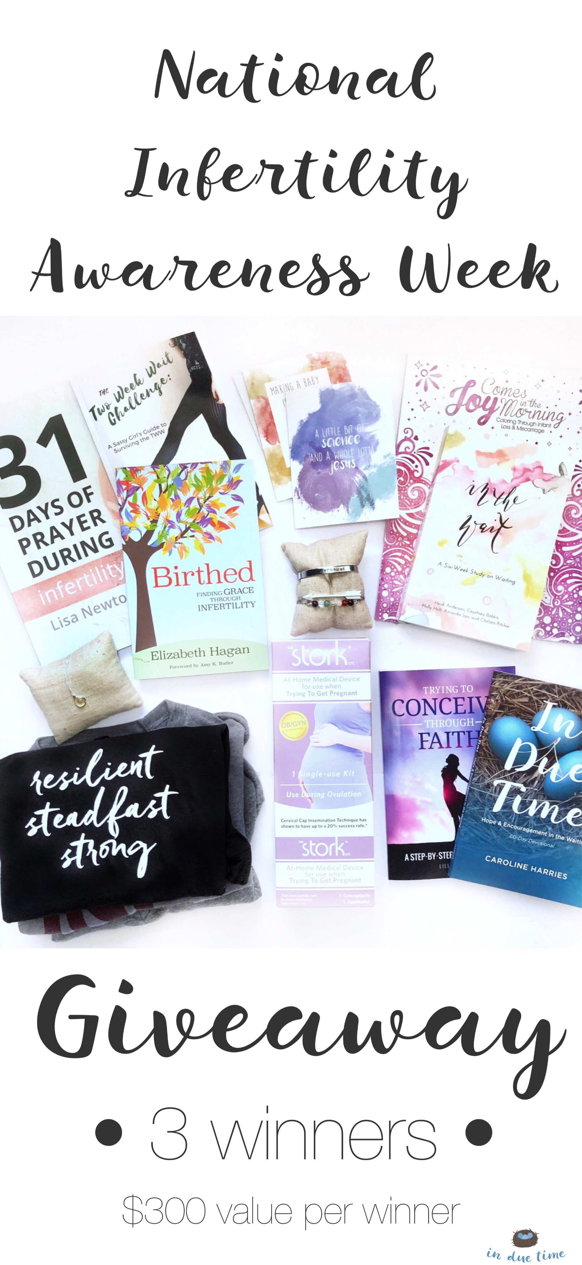 National Infertility Awareness Week Giveaway