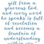 Proverbs 2:6 Wisdom is a Gift #223
