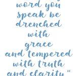 Colossians 4:6 Spoken Words #235