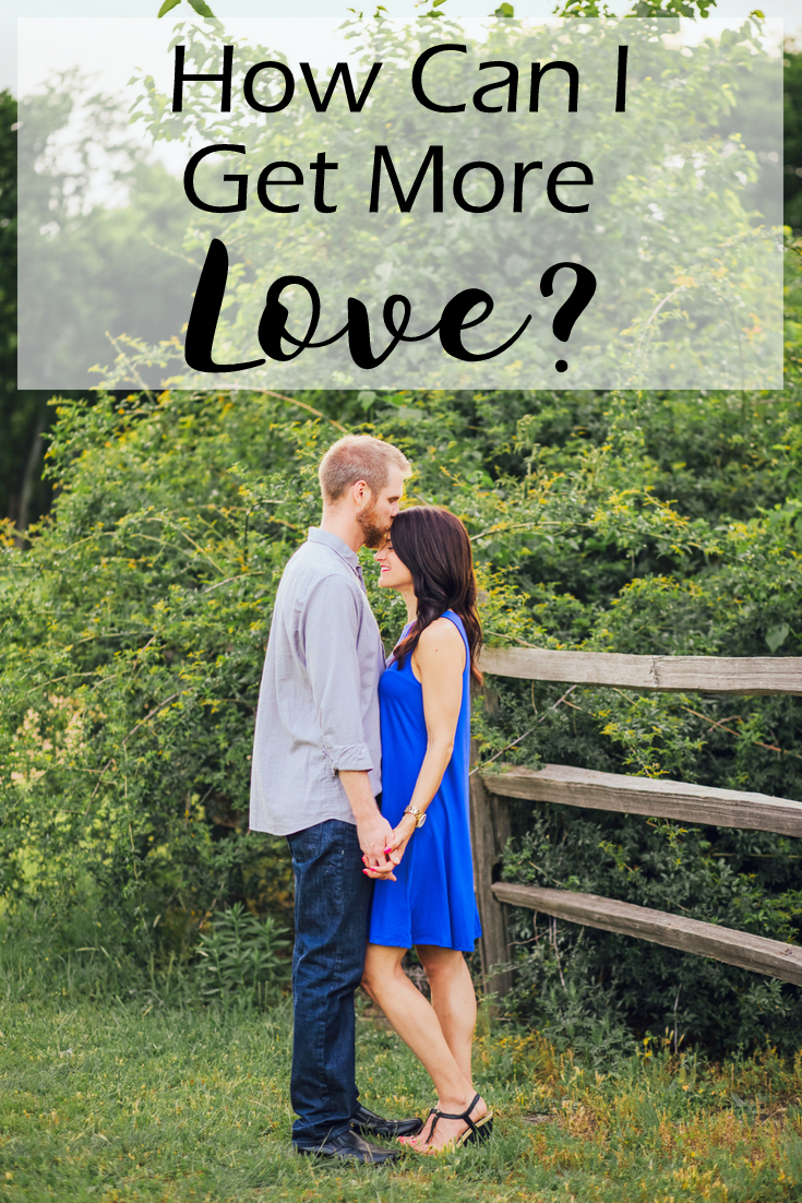 How Can I get more love - in due time blog - christian infertility