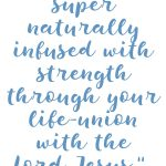 Ephesians 6:10 Strength Through Life-Union #238