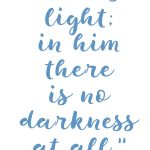 1 John 1:5 God is light #243