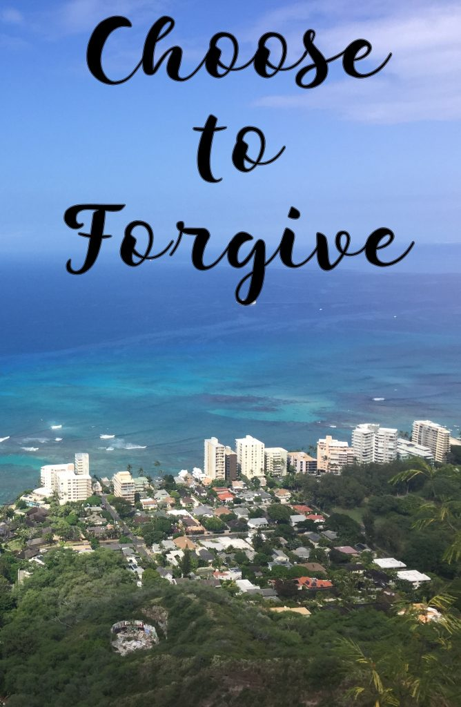 Choose to Forgive - In Due Time Blog - Forgiveness