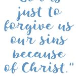 1 John 1:8-10 Forgive Our Sins #245