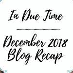 December 2018 Recap