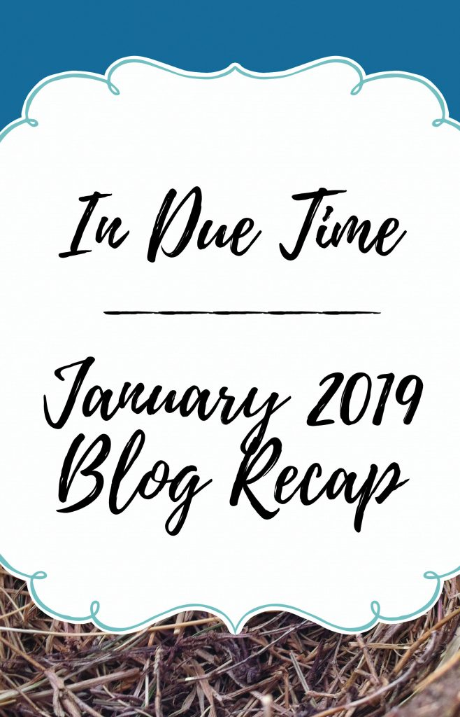 january 2019 in due time blog