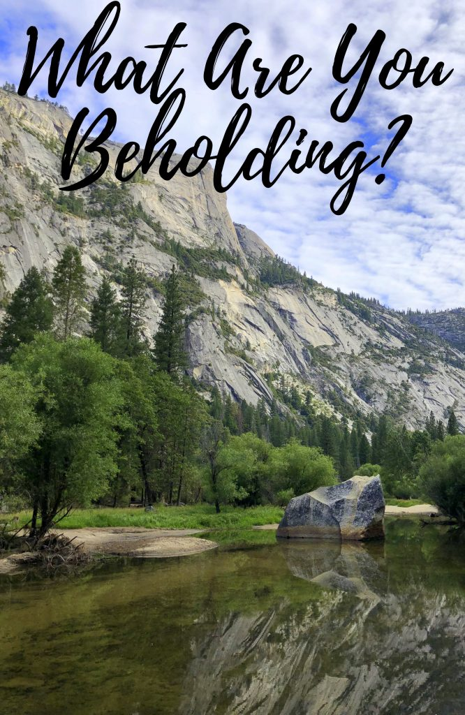 what are you beholding - in due time blog