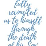 Romans 5:10 Fully Reconciled  #268