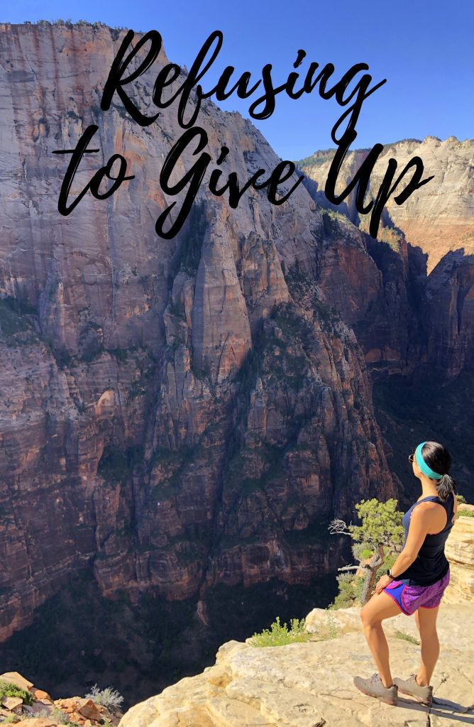 Refusing to Give up In Due Time Blog infertility