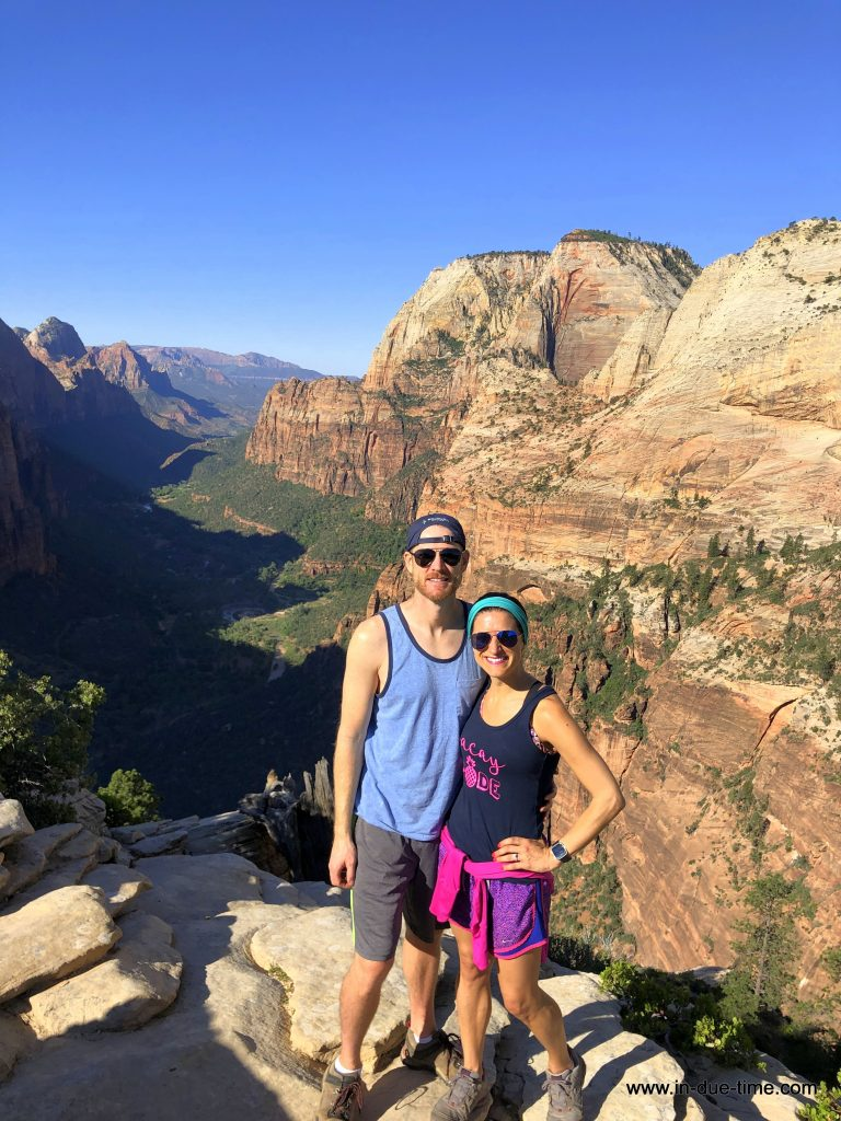 Zion Bryce National Park Utah Hiking Trip Recap In Due Time Blog (10)