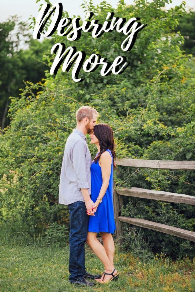 Desiring More of God In Due Time Blog