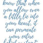 Galatians 5:9 Lies Permeate Beliefs  #280