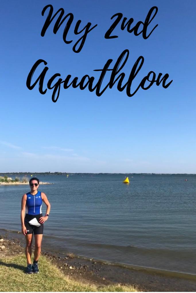 my 2nd aquathlon