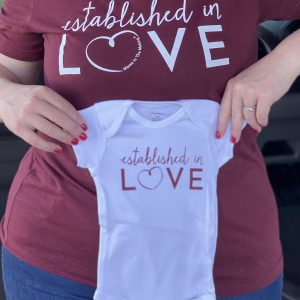 Established in Love Onesie