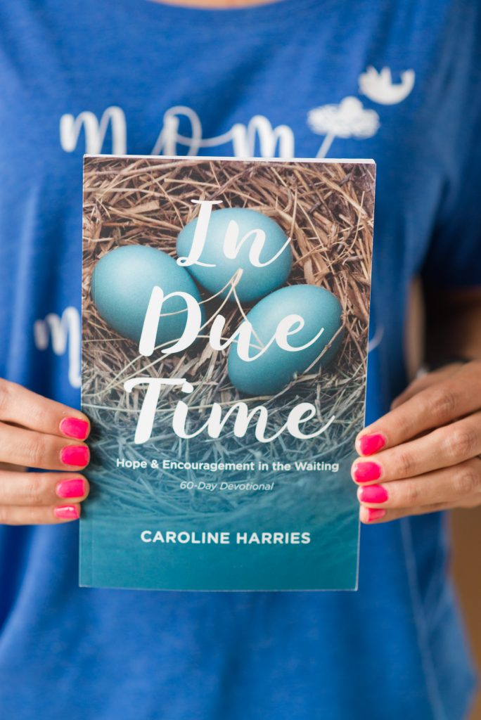 in due time devotional Caroline harries