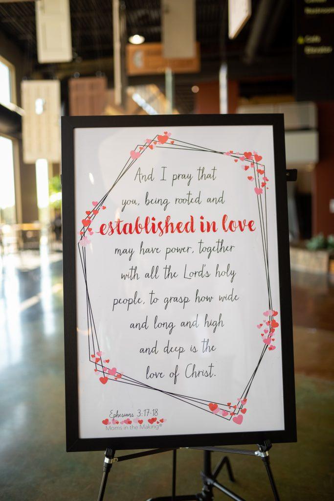 established in love ephesians 3:17-18