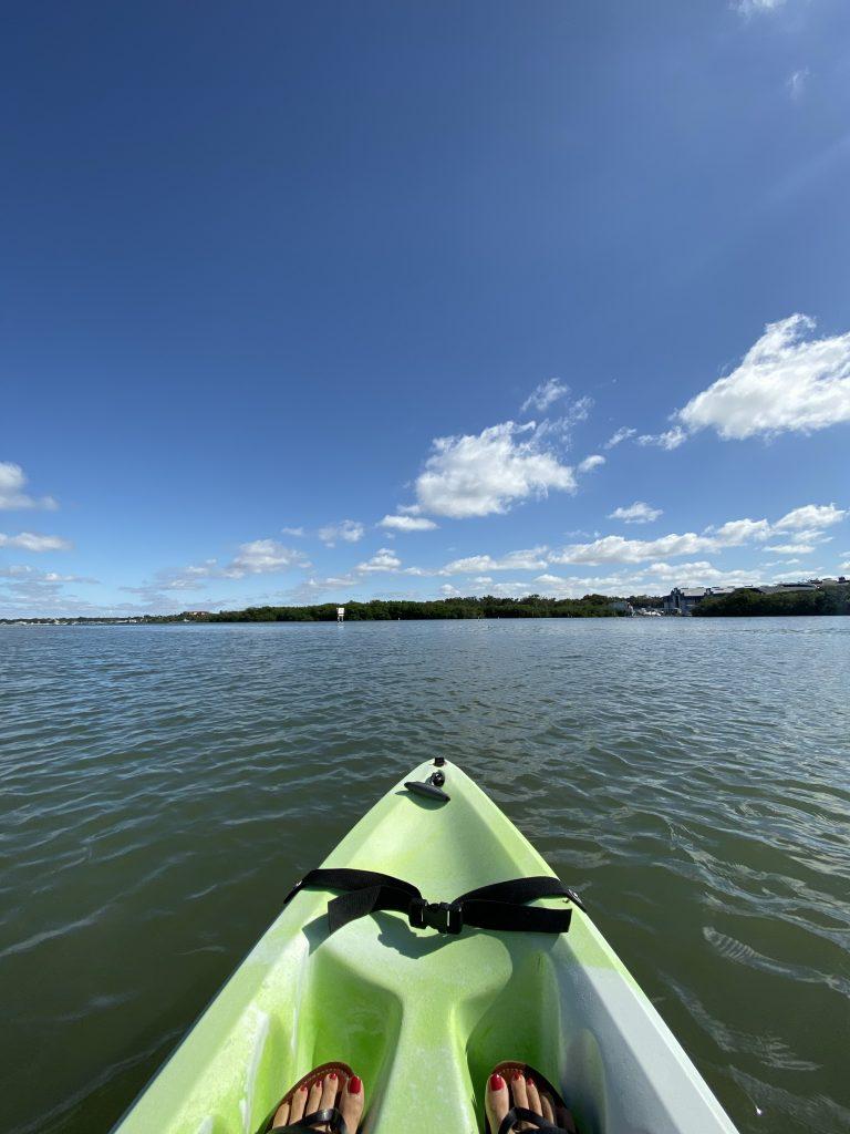 Indian Beach Florida kayak in Due Time Blog