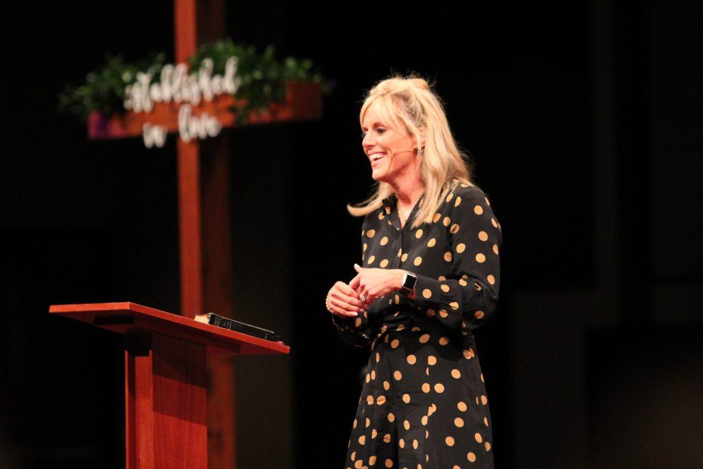 Jeffie jones keynote speaker dallas texas moms in the making conference