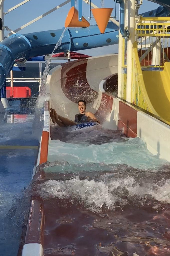 Carnival Horizon water slides2