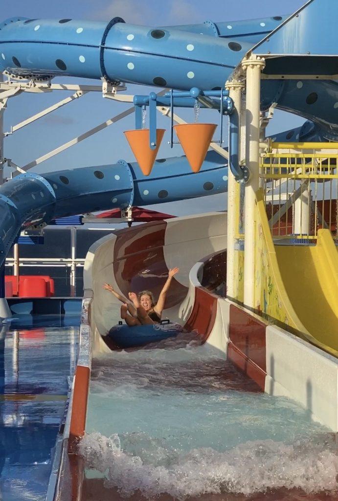 Carnival Horizon water slides3