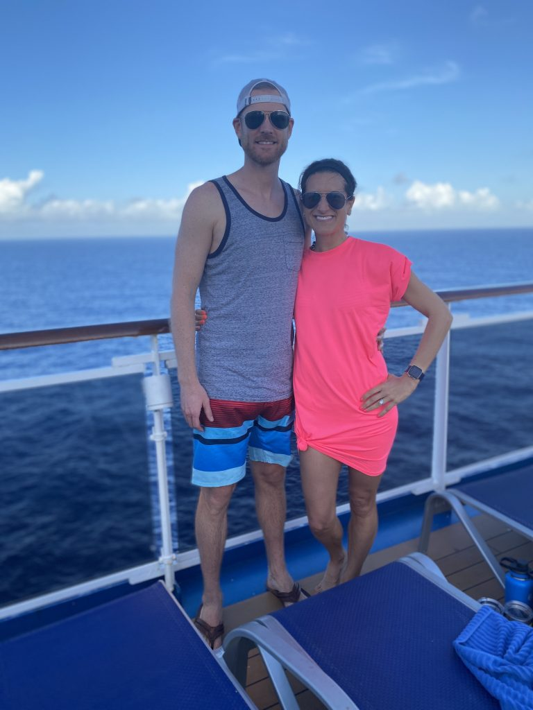 carnival horizon day at sea lido deck