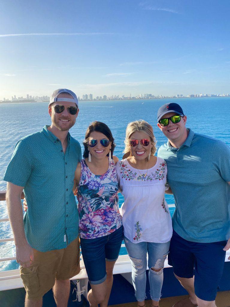caroline harries jessica satterfield cruise in miami trip