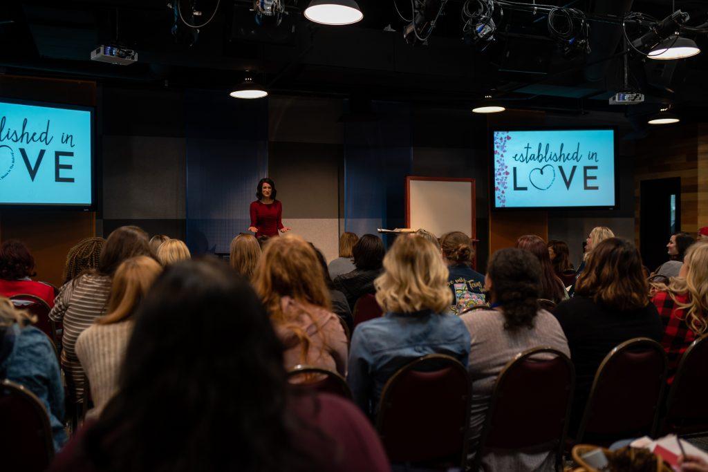 Caroline Harries faith infertility speaker