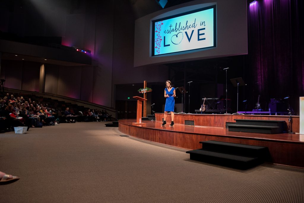 Caroline Harries infertility faith speaker