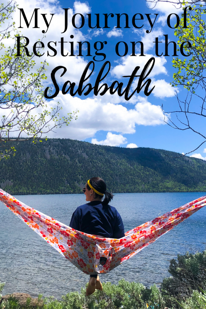 My Journey of Resting on the Sabbath in due time blog