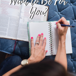Who Does God Want to Be for You?