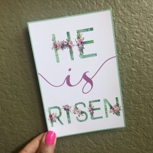 He is risen in due time blog