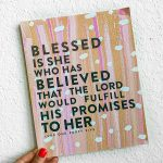 """""""Blessed is She"""" Gift"""