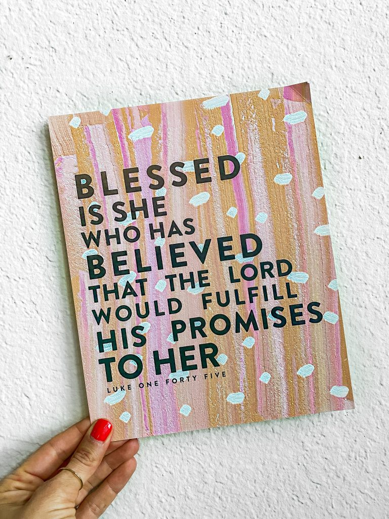 Blessed is She gift