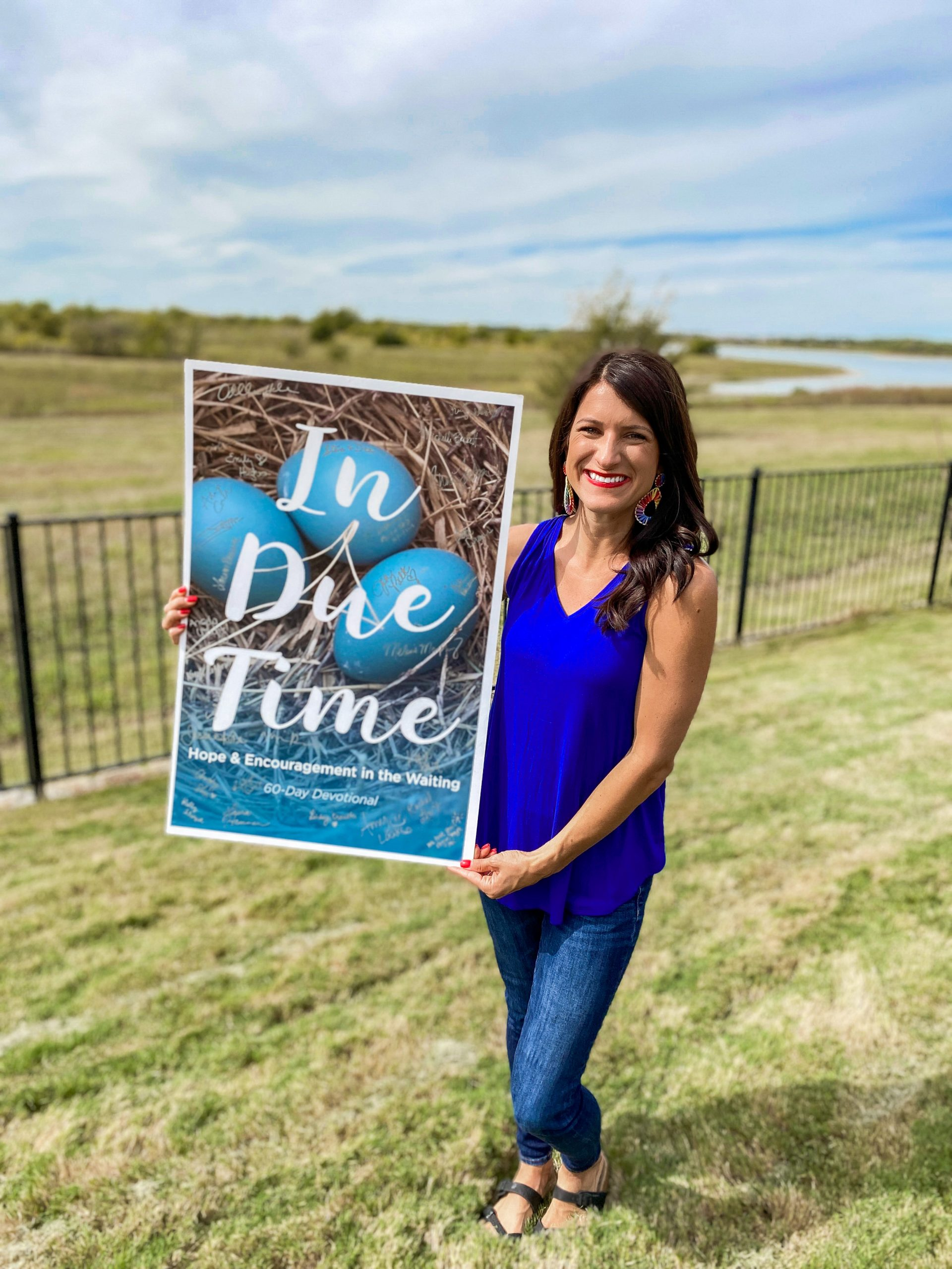 in due time book for hope and encouragement